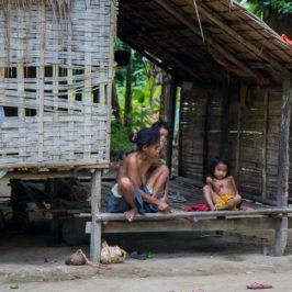 PHILIPPINEN REISEN BLOG - Besuch beim Stamm der Batak in Palawan