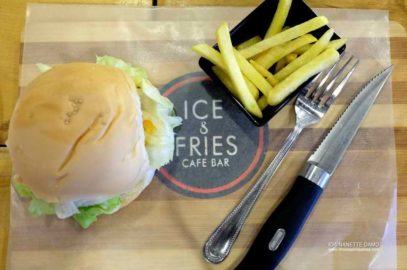 Ice und Fries in Tacurong