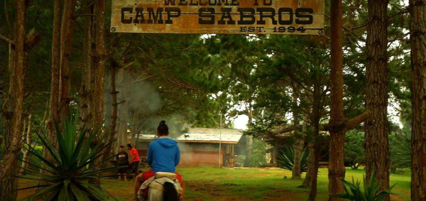 Campo Sabros: Eine der ersten Ziplines