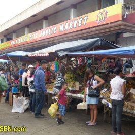 PHILIPPINEN REIEN BLOG - Auf dem Markt in Malaybalay in der Provinz Bukidnon Foto: Dieter Sokoll