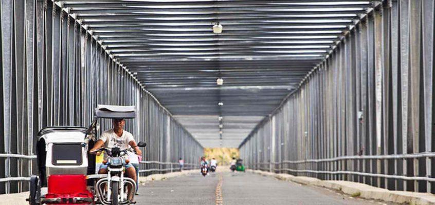 Die Calaba Brücke in Abra