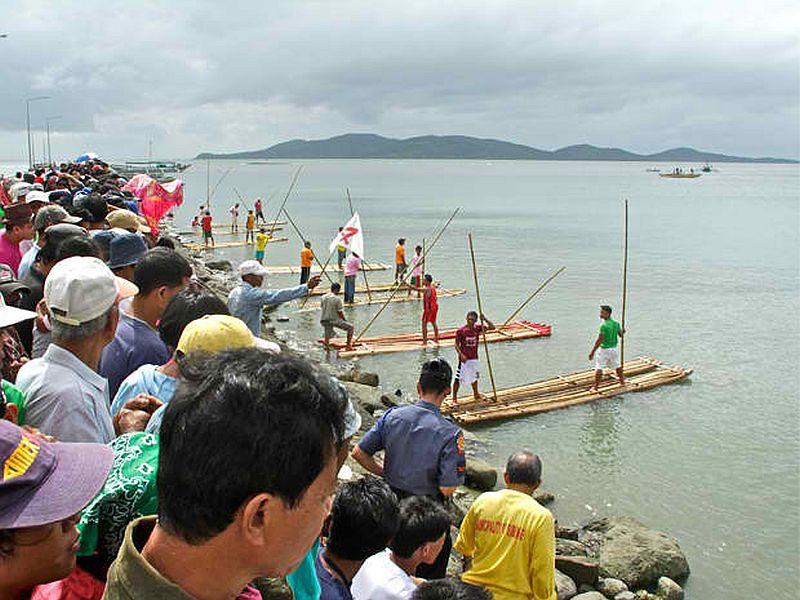PHILIPPINEN REISEN - Balsahan Festival - Treiben mit dem Fluss - in Sibunag auf Guimaras