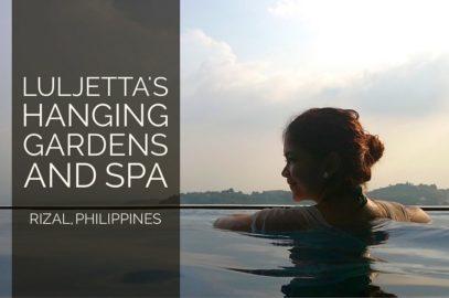 Hängende Gärten und Infinity Pool