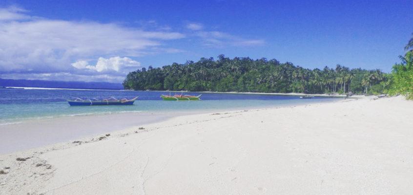 Die Insel Cabgan in Surigal del Sur