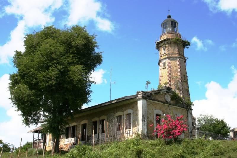 Der Melville Leuchtturm in Balabac