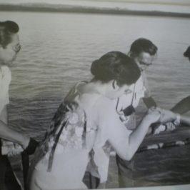 PHILIPPINEN BLOG - Nostalgiefotos der Präsidentenfamilie Marcos vom Besuch auf der Insel Higatangan, Naval, Biliran