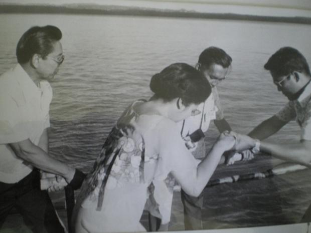 Nostalgische Fotos der Präsidentenfamilie Marcos
