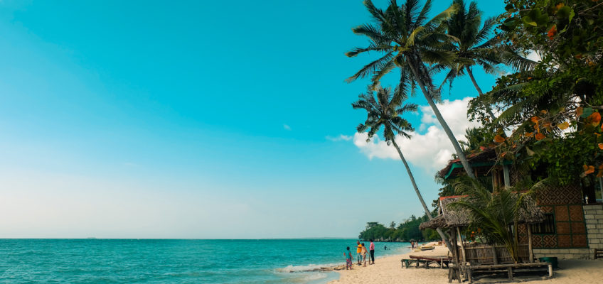 PHILIPPINEN BLOG - Am Lambug Beach in Badian
