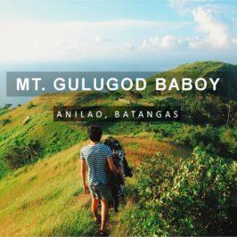 PHILIPPINEN BLOG - Mount Gulugod Baboy - die perfekte Wanderung für Anfänger