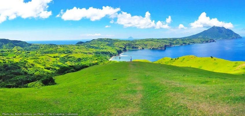 Die Provinzhauptstadt Basco von Batanes