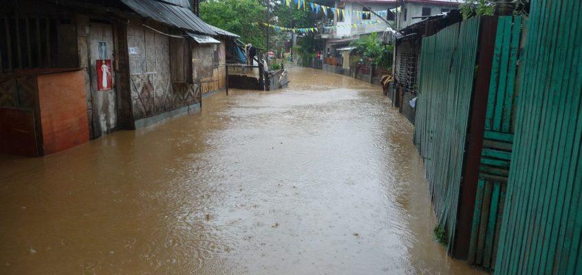 Katastrophenschutz – Hochwasser-Einsatz