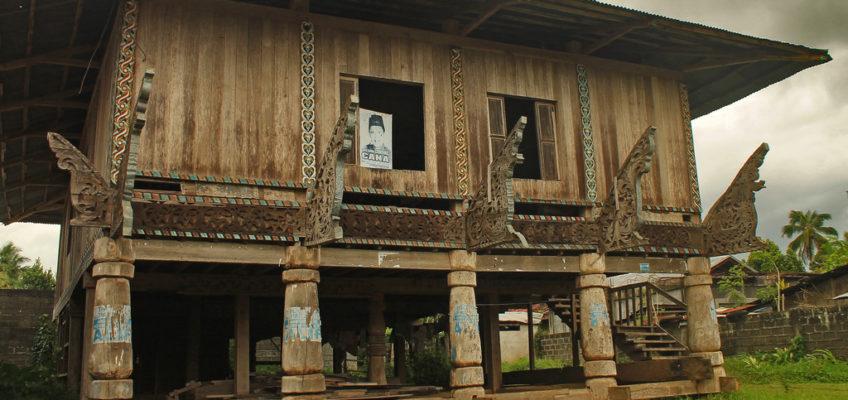 PHILIPPINEN REISEN BLOG - ARMM traditionelle Häuser - Maranao Haus in Lanao del Sur