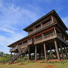 PHILIPPINEN REISEN BLOG - Sulu Haus der Tausug