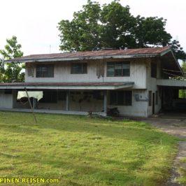 PHILIPPINEN REISEN BLOG -- Ein Haus aus besseren Zeiten Foto: Sir Dieter Sokoll KR