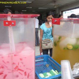 PHILIPPINEN REISEN BLOG - Eisgekühlte Getränke auf der Straße Foto: Sir Dieter Sokoll KR