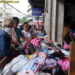PHILIPPINEN REISEN BLOG - Ukay-Ukay - Second Hand Bekleidung Foto: Sir Dieter Sokoll KRPHILIPPINEN REISEN BLOG - Ukay-Ukay - Second Hand Bekleidung Foto: Sir Dieter Sokoll KR