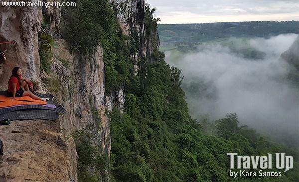 REISEZIELE: Die Kiokong White Rock Wall in Bukidnon