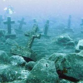 PHILIPPINEN REISEN BLOG - Versunkener Friedhof von Camiguin