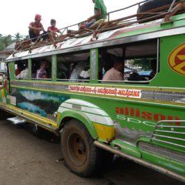 PHILIPPINEN REISEN BLOG - Mit dem Jeepney über Land Foto: Sir Dieter Sokoll KR