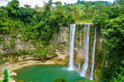 PHILIPPINEN REISEN BLOG - Niludhan Falls in Bayawan in Negros Oriental