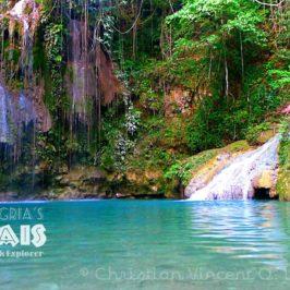 PHILIPPINEN REISEN BLOG - REISEZIELE - Cambbais Wasserfälle in Alegri