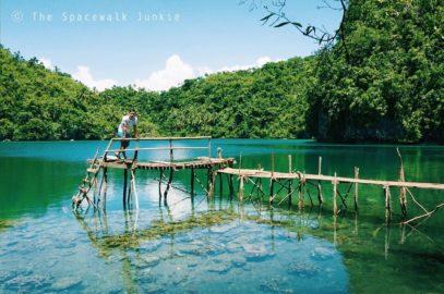 PHILIPPINEN REISEN BLOG - Die Lapsay Lagune auf Tinago
