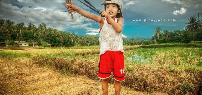 PHILIPPINEN REISEN BLOG - Klassische philippinische Spielzeuge - Tirador