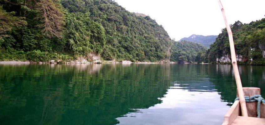REISEZIELE: Pinacanauan Fluss