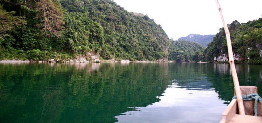 PHILIPPINEN REISEN BLOG - REISEZIELE: Pinacanauan Fluss