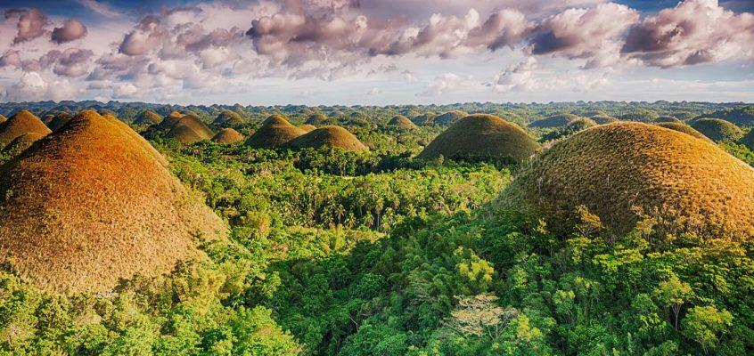UNGLAUBLICHE ZWILLINGE: Chocolate Hills und Green Hills