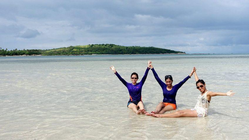 PHILIPPINEN MAGAZIN - REISEZIEL: Vanishing Island in Malilipot