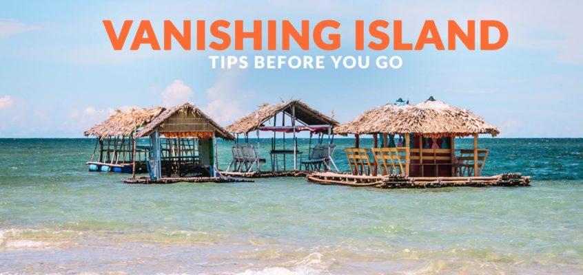 REISEZIEL: Verschwindende Insel in Malilipot