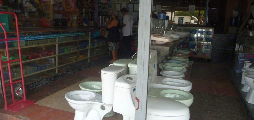 PHILIPPINEN REISEN BLOG - Einkaufen in einem Baugeschäft als Senior Fotos von Sir Dieter Sokoll für PHILIPPINEN MAGAZIN