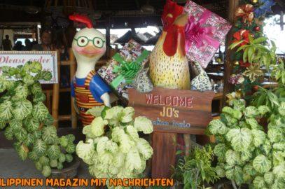 PHILIPPINEN REISEN BLOG - Mittagessen im Jo's Chicken Inato in Sibulan Foto von Sir Dieter Sokoll für PHILIPPINEN MAGAZIN