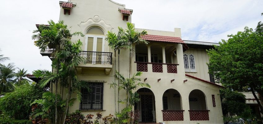 PHILIPPINEN REISEN BLOG - German Unson Heritage House in Salay