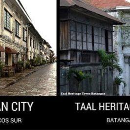PHILIPPINEN REISEN BLOG - UNGLAUBLICHE ZWILLINGE: Vigan City und Taal Heritage