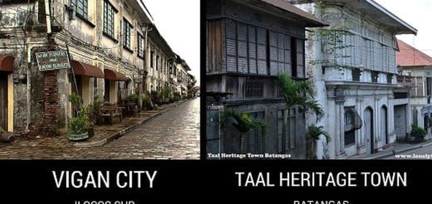 Unglaubliche Zwillinge: Vigan City gegen Taal Heritage