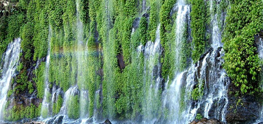 REISEZIELE: Asik-asik Wasserfall