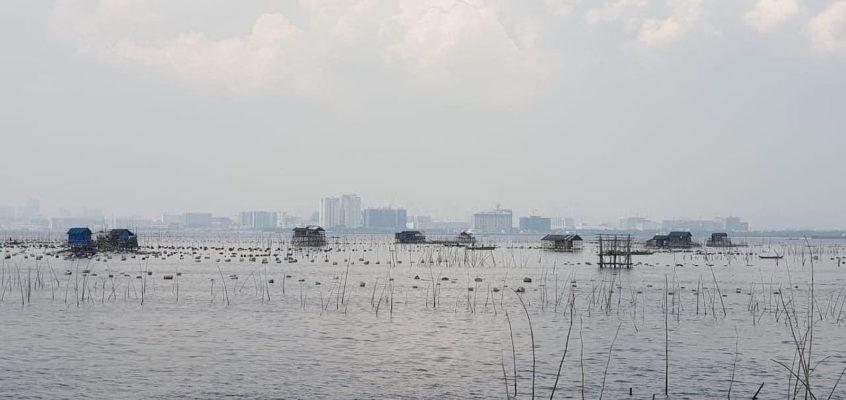 Muschel- und Austernfarm in Bacoor