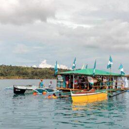 PHILIPPINEN BLOG - Balsa de Agua - Picknick auf dem Wasser