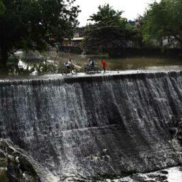 PHILIPPINEN BLOG - Prinza Damm am Zapote Fluß