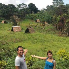 PHILIPPINEN BLOG - Im Don Benedicto lagbas Kinawa Park in Sugbongcogon