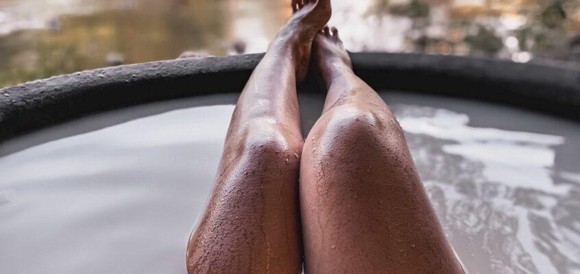 Heißes Kawa Bad in Tibiao