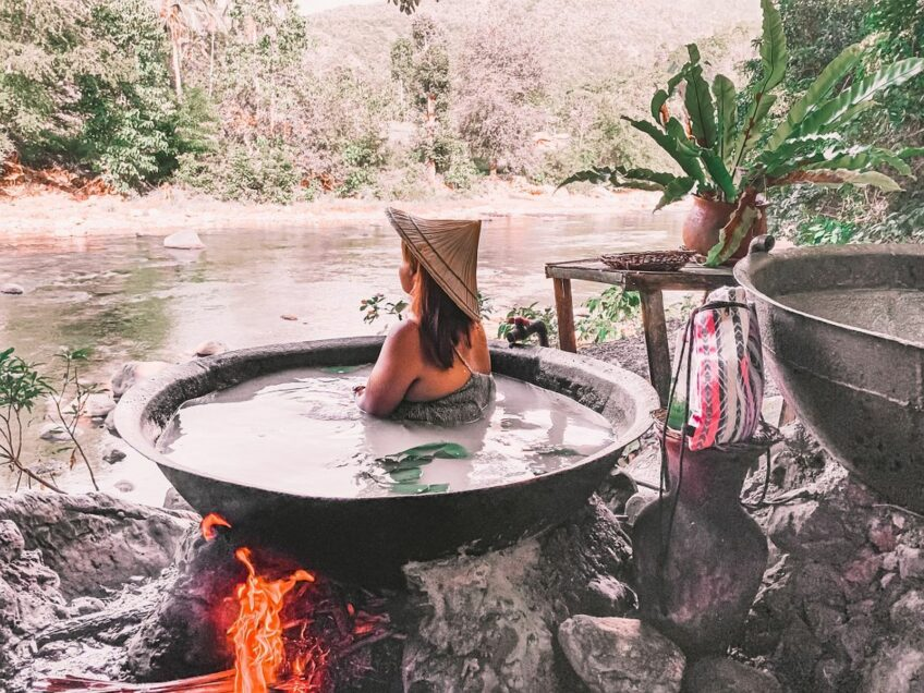 PHILIPPINEN BLOG - Heißes Kawa Bad in Tibiao