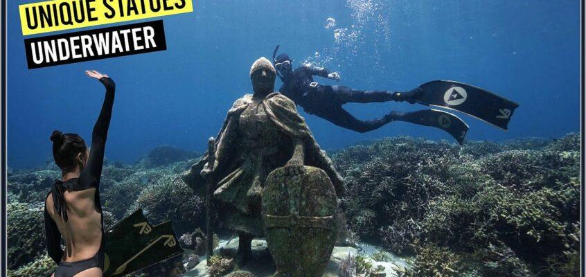 Unterwasser-Statuen in Alegria