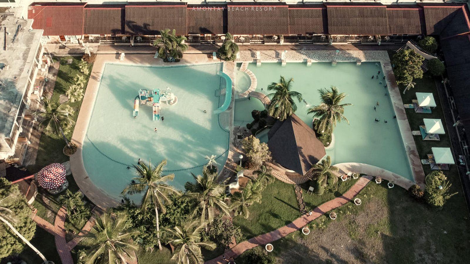 PHILIPPINEN BLOG - Sonnenuntergang-Beobachtung im Amontay Beach Resort in Nasipit