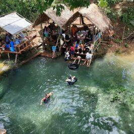 PHILIPPINEN BLOG - Versteckte kalte Quelle