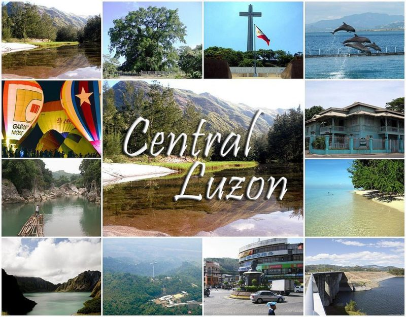 PHILIPPINEN REISEN - ORTE - Die Region Central Luzon