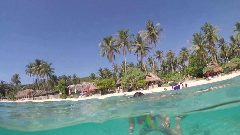 PHILIPPINEN REISEN  - ORTE - San Antonio auf der Insel Dalupiri in Northern Samar