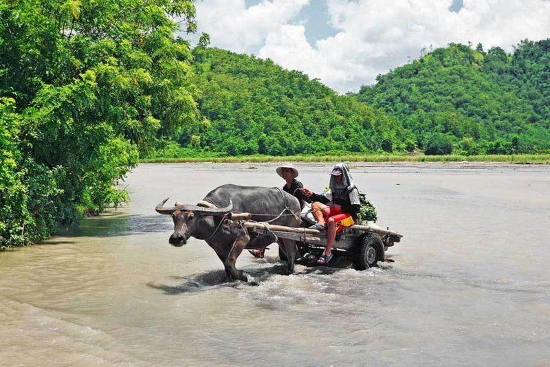 PHILIPPINEN REISEN - ORTE - Die Provinz Pampanga